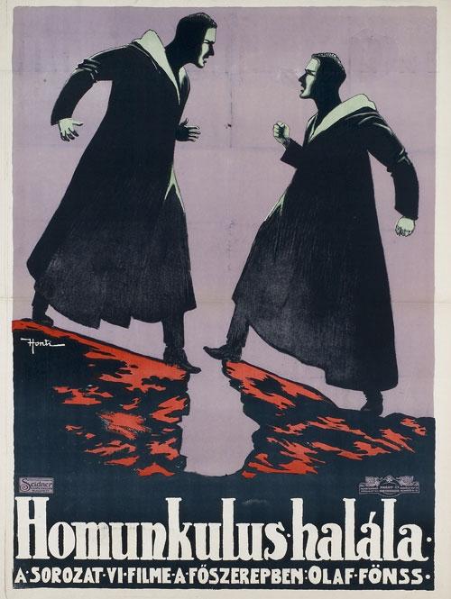 Битва титанов на венгерском постере