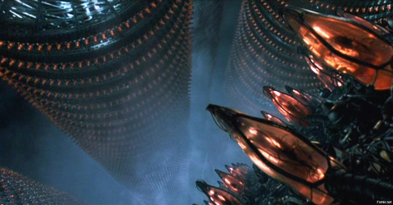 Кадр из фильма «Матрица» (The Matrix, 1999, США).