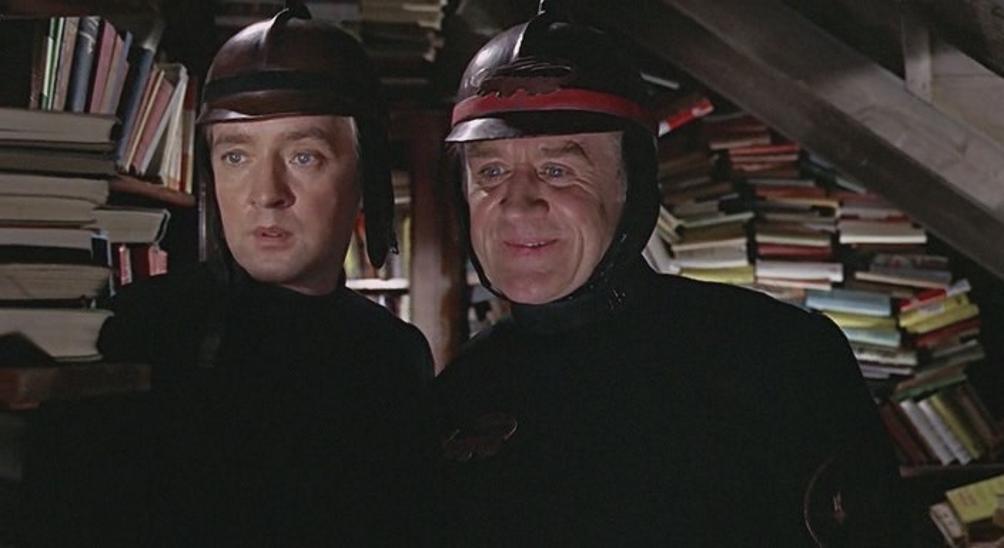 451 градус по Фаренгейту (1966, реж. Ф. Трюффо. Великобритания)