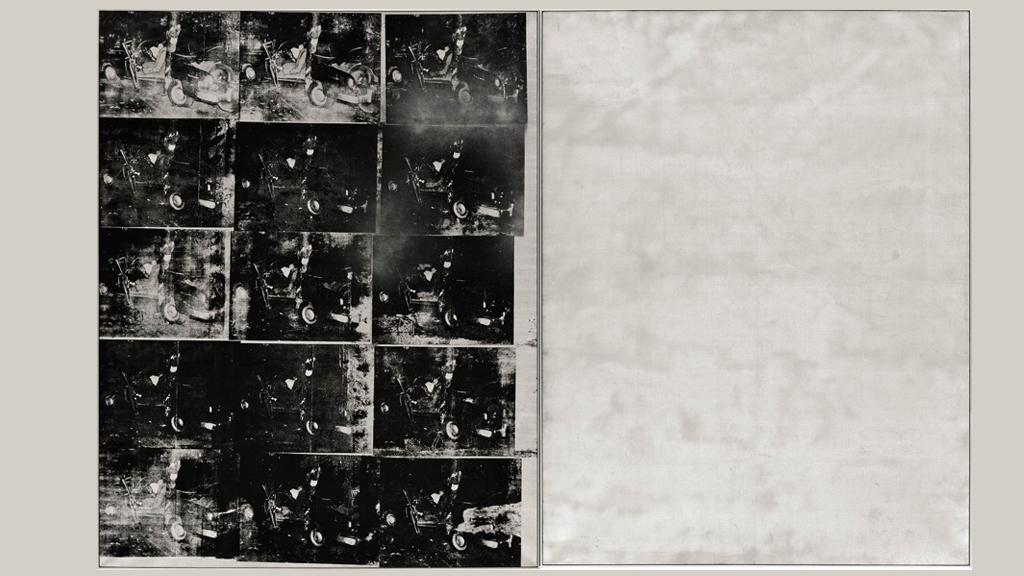 «Авария серебряной машины» (Энди Уорхол, 1963)