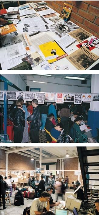 «Прямое действие как вид искусства», воркшоп, Барселона, 2000 г.