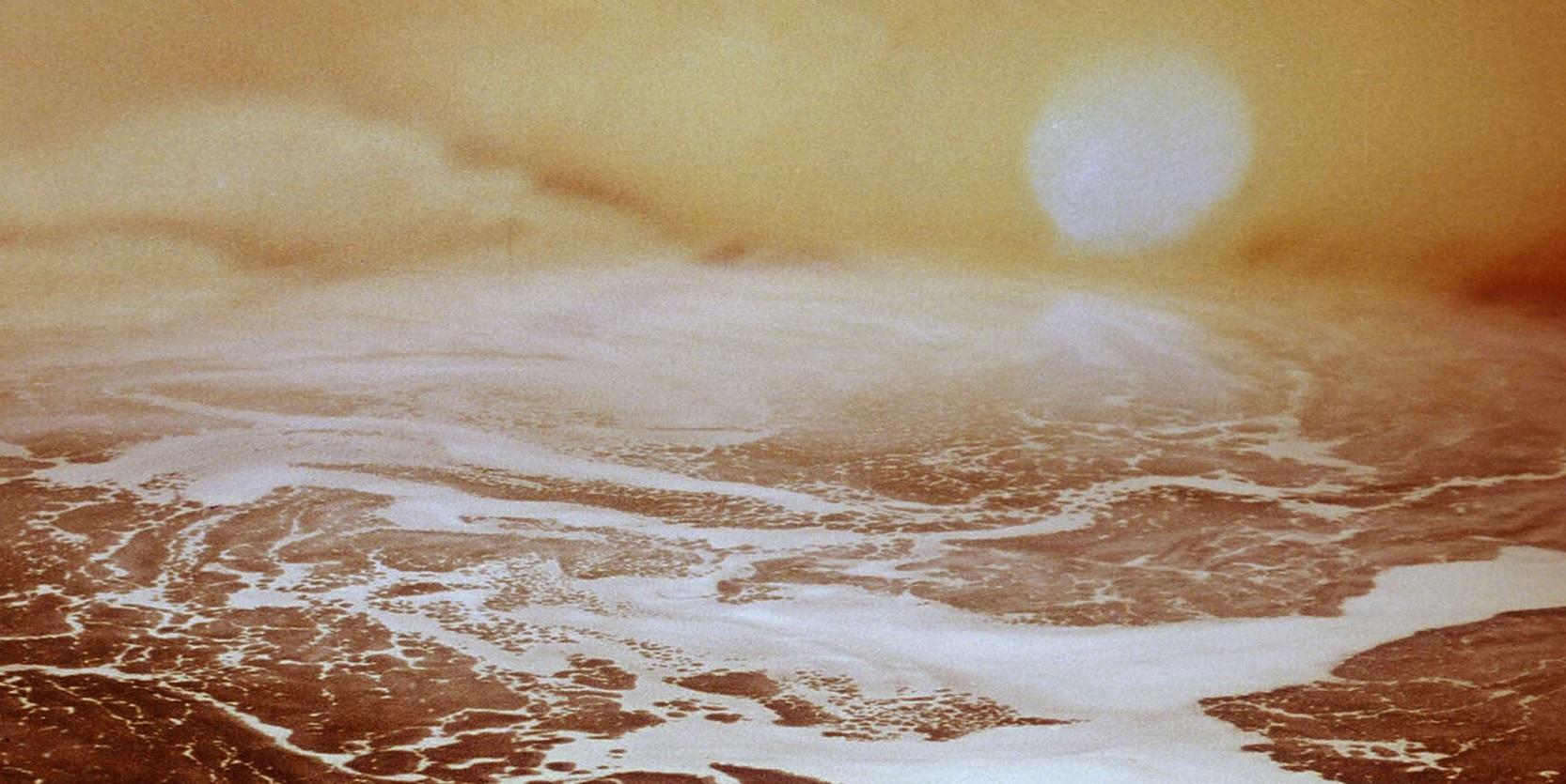 Кадр из фильма Андрея Тарковского «Солярис» (1972)
