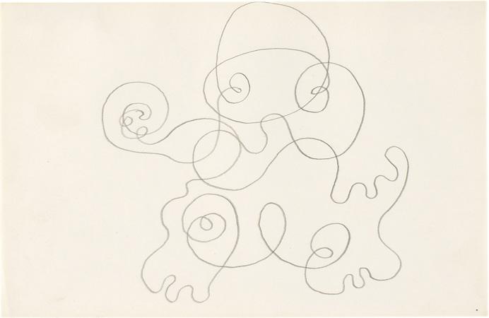 Josef Albers, Study for Eh-De, ca. 1942