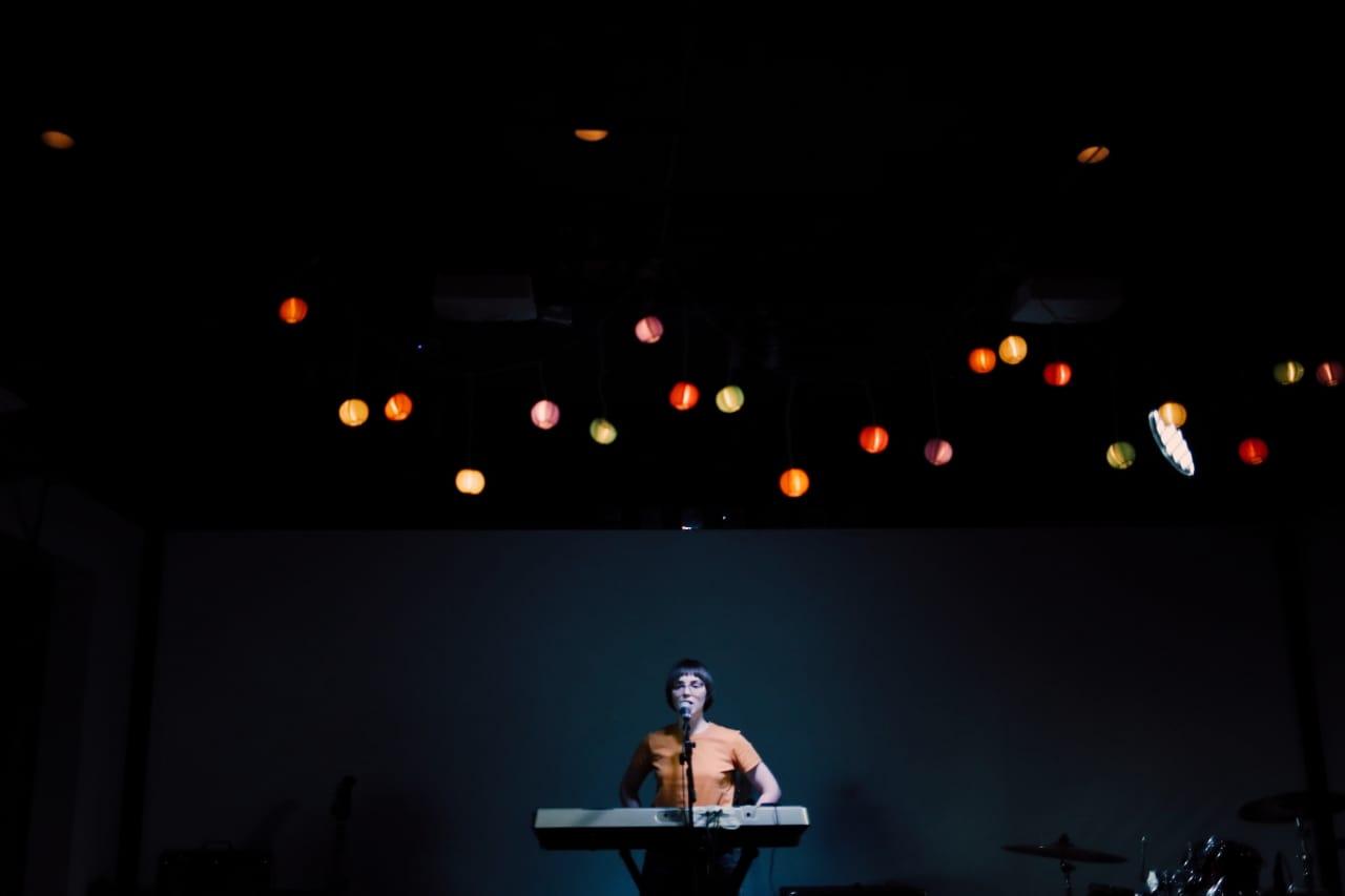 Света на саундчеке в Powerhouse, 20.04.19. Фото: Анастасия Станкина