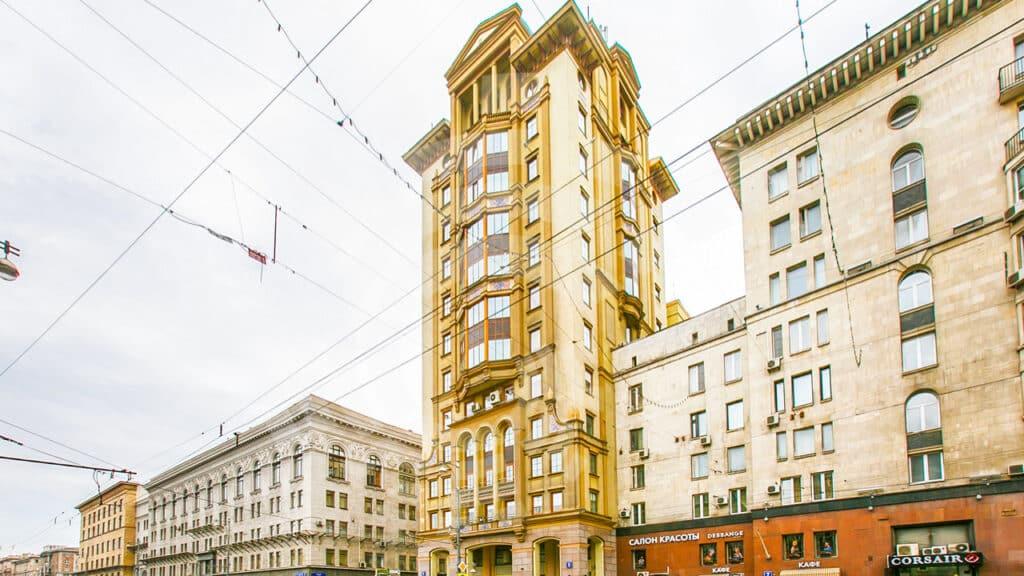 Галс Тауэр около Маяковки, Москва © hals-tower.caos.ru