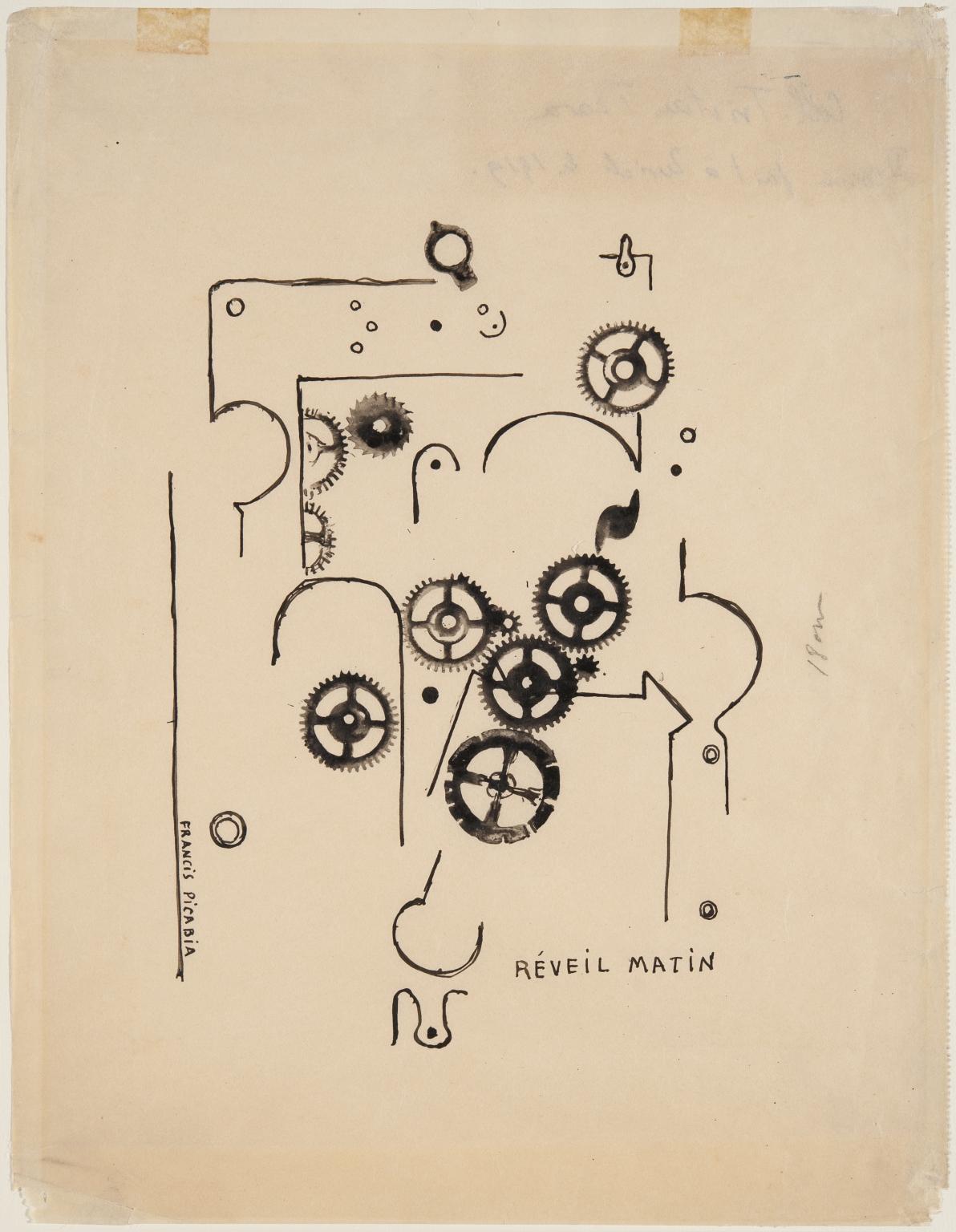 Франсис Пикабиа, Réveil matin, 1919.