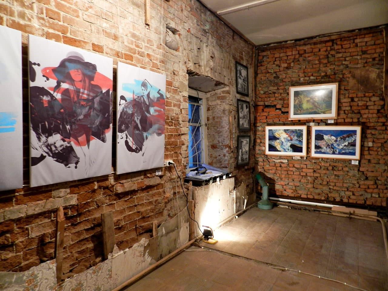 Выставка-акция «Место для искусства». 2013