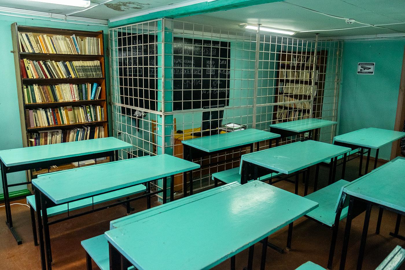 Библиотека колонии строгого режима №4, Кинешма.