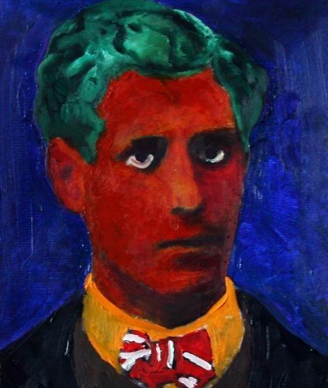 Кровавый портрет творца Мальдорора.