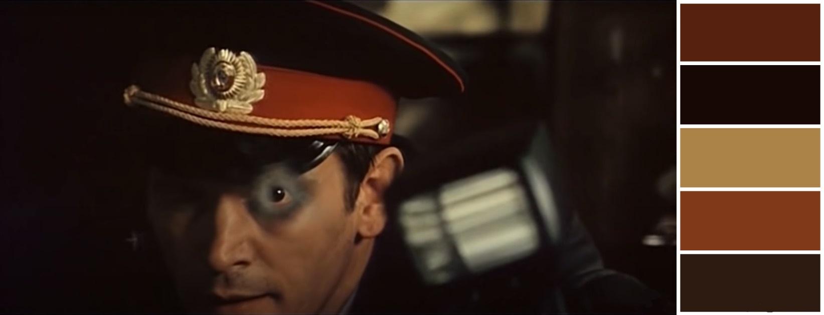 «Криминальная» палитра, в которой стилистически выдержан весь фильм