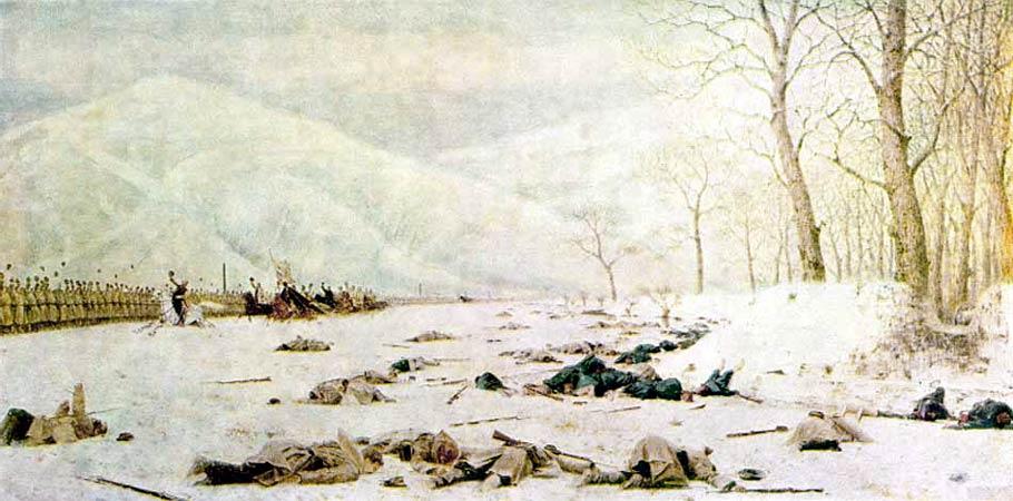 1879, В.В. Верещагин - Шипка-Шейново (Скобелев под Шипкой)