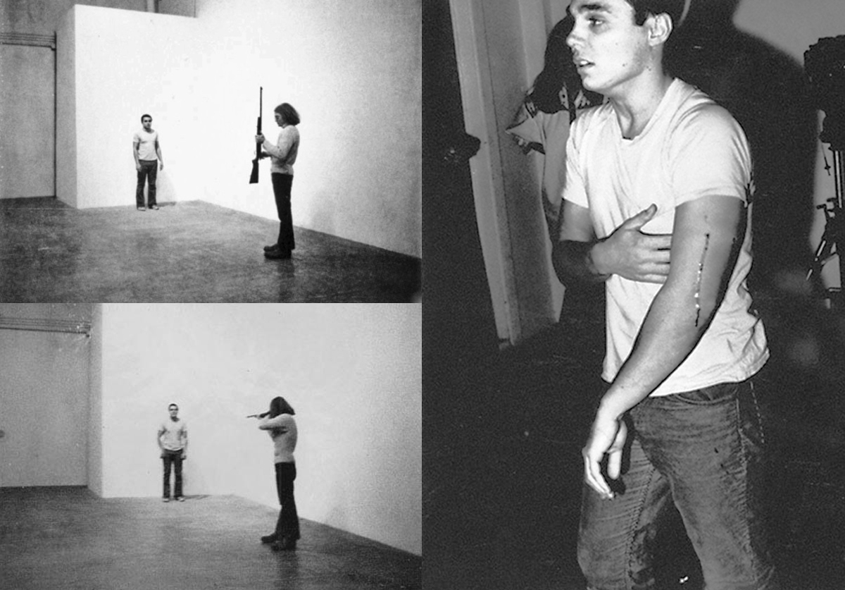 <i>Shoot</i>, Chris Burden, 1971