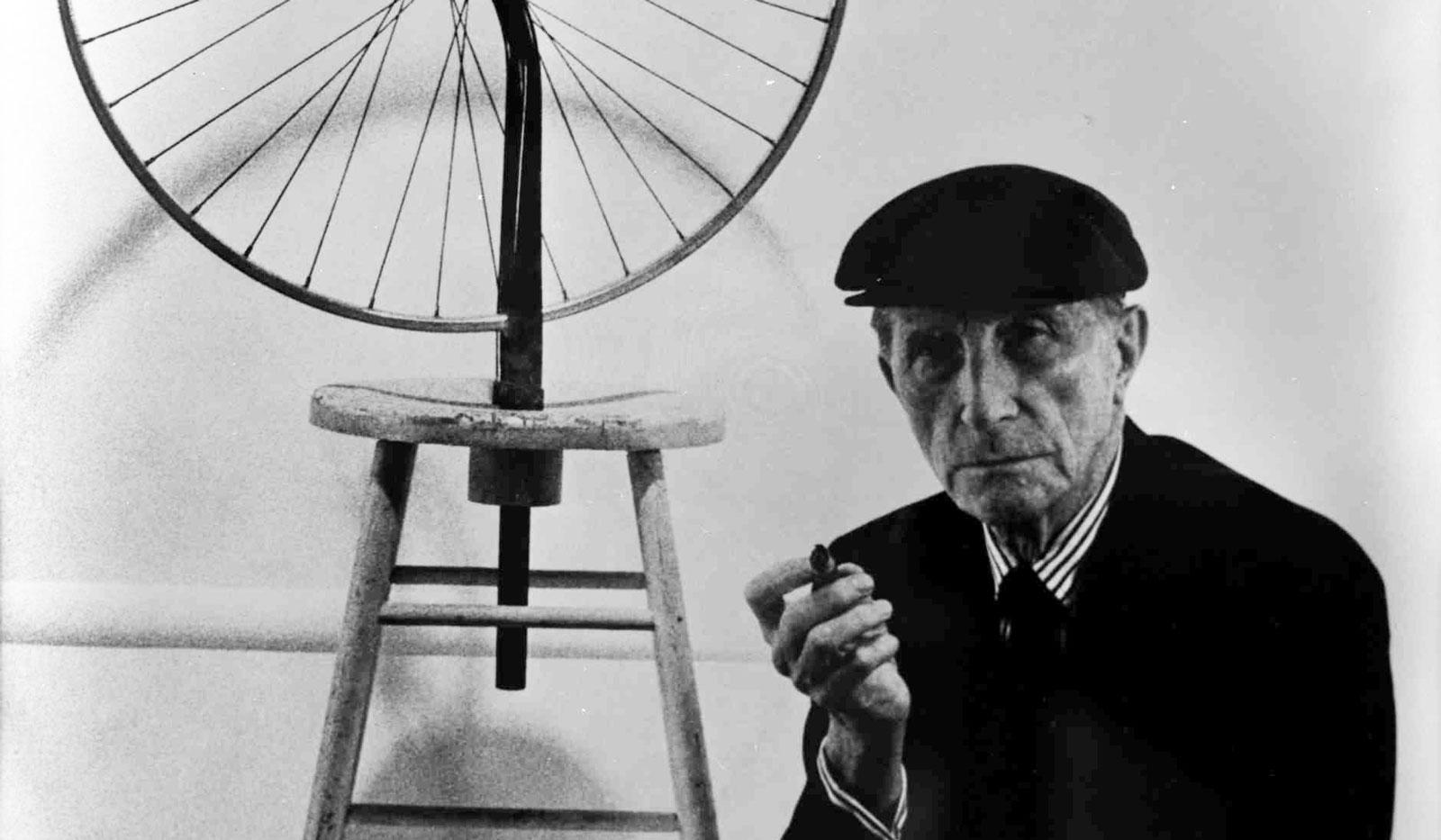 Марсель Дюшан и его работа «Велосипедное колесо»
