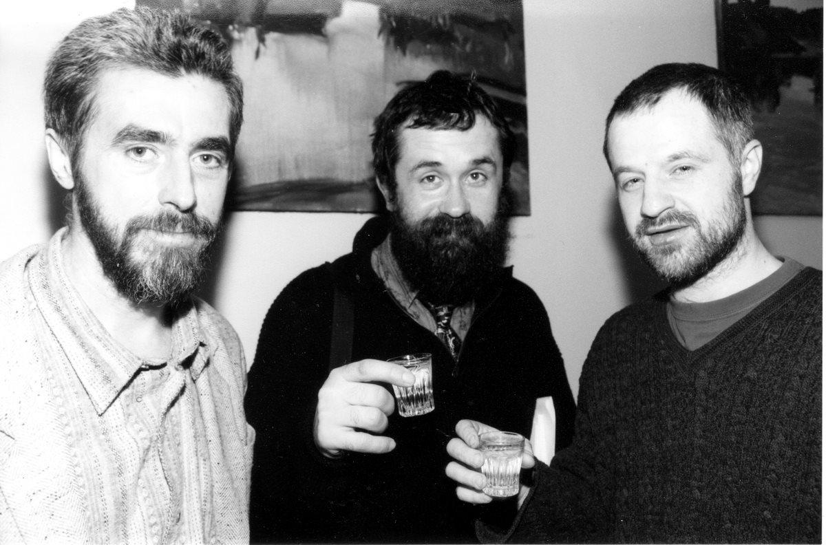 Владимир Белобров, Олег Попов, Константин Сутягин. Фото Наташи Четвериковой