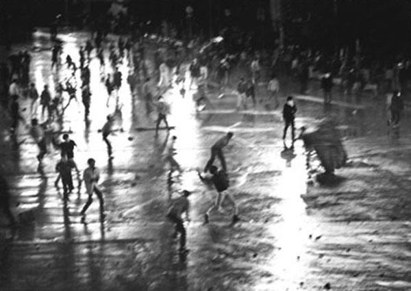 Сёмэй Томацу. Oh, Shinjuku. 1969. Courtesy:https://tinyurl.com/srv9kgb