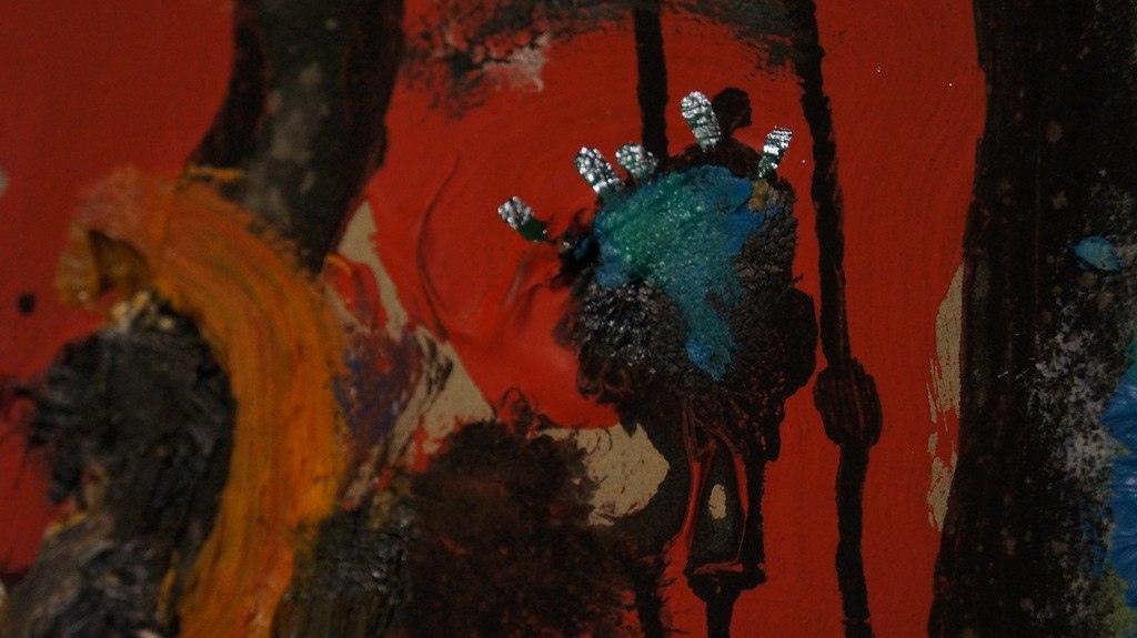Алексей Мартынов, фрагмент картины «Сибирь. Медовый месяц».