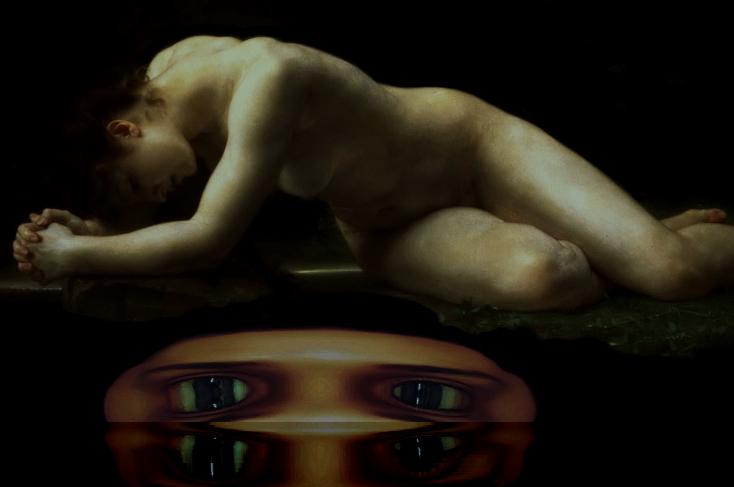В рамках картины Вильяма Бугро «Библида».