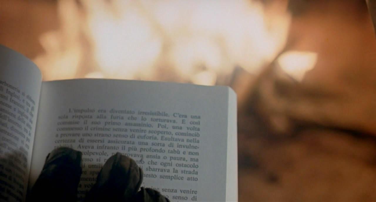 Текст как сюжетная завязка - Дрожь (1982)