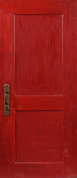 """Михаил Рогинский. """"Дверь"""", 1965."""