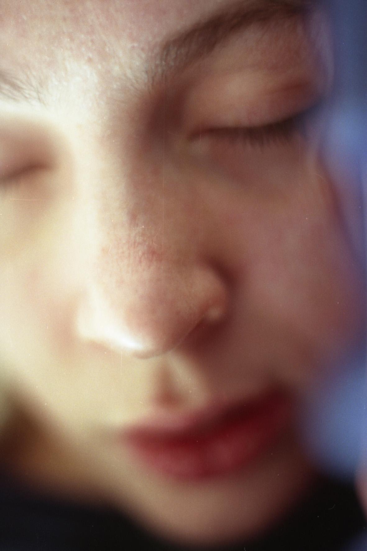 """Rêve. Reverie. Rêverie éveillée.Rêve de jour.From """"Singbarer Rest – der Umriss"""" series.From « Cahiers du Photographique »"""