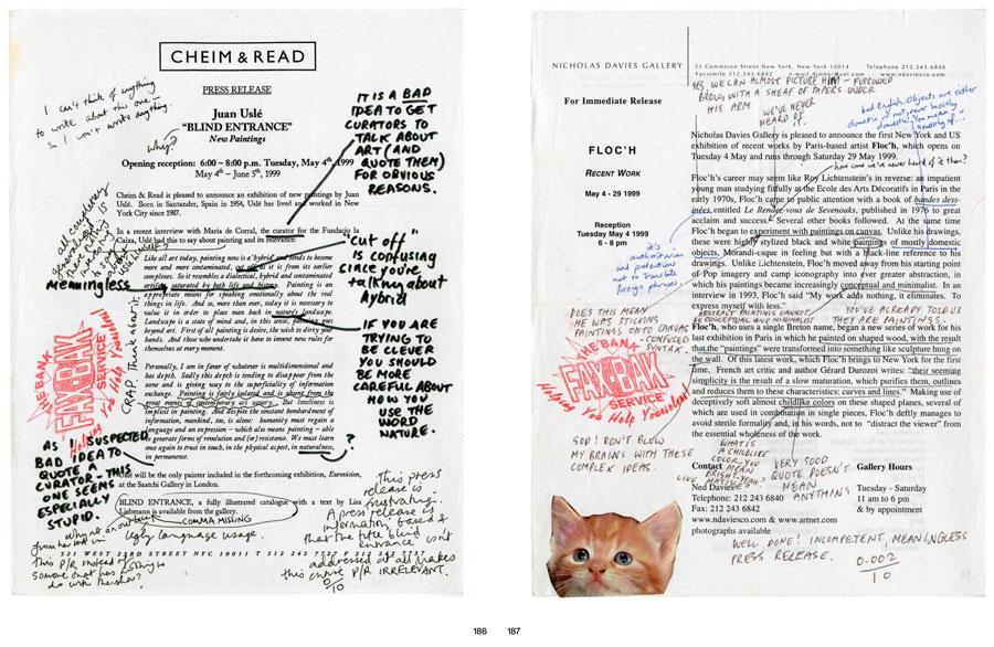 «Пресс-релиз» (1998) лондонского коллектива БАНК приглашал зрителей присоединиться к борьбе с «особенным языковым явление