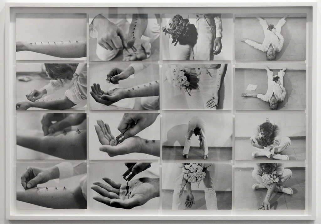 <i>Azione Sentimentale</i>, Gina Pane, 1973