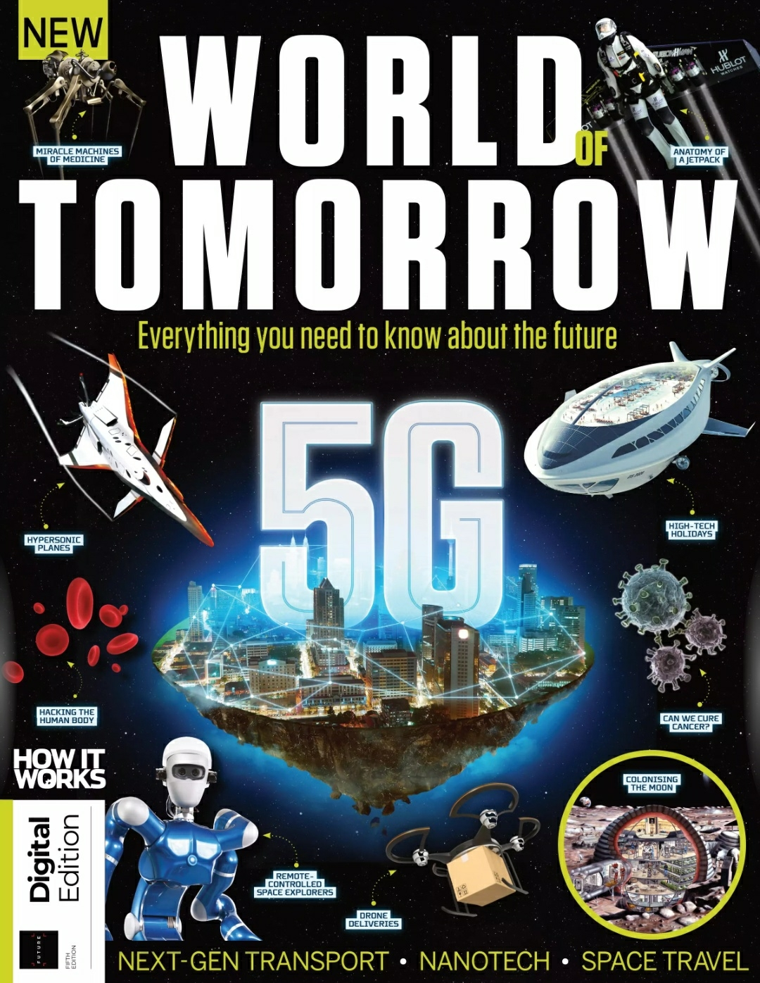 Обложка майского номера журнала How It Works от 2021 г.