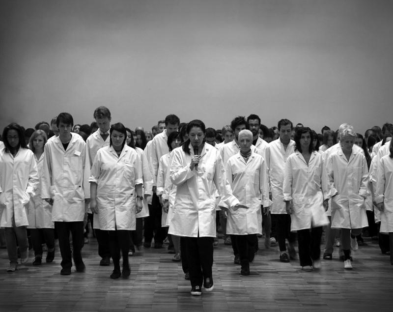 «Марина Абрамович представляет» в Уитвортской художественной галерее, Манчестерский международный фестиваль, 2009