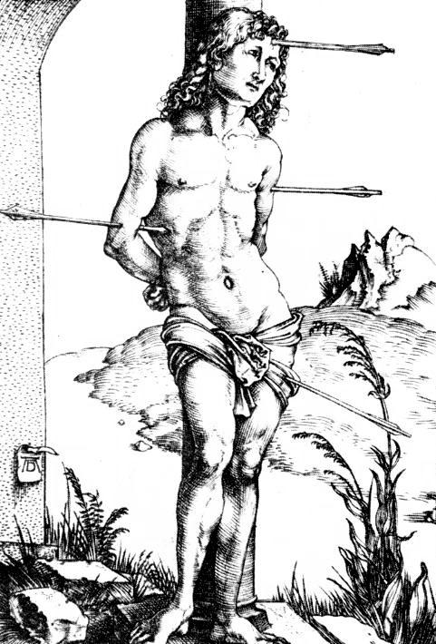 Альбрехт Дюрер, «Святой Себастьян», 1499 г.