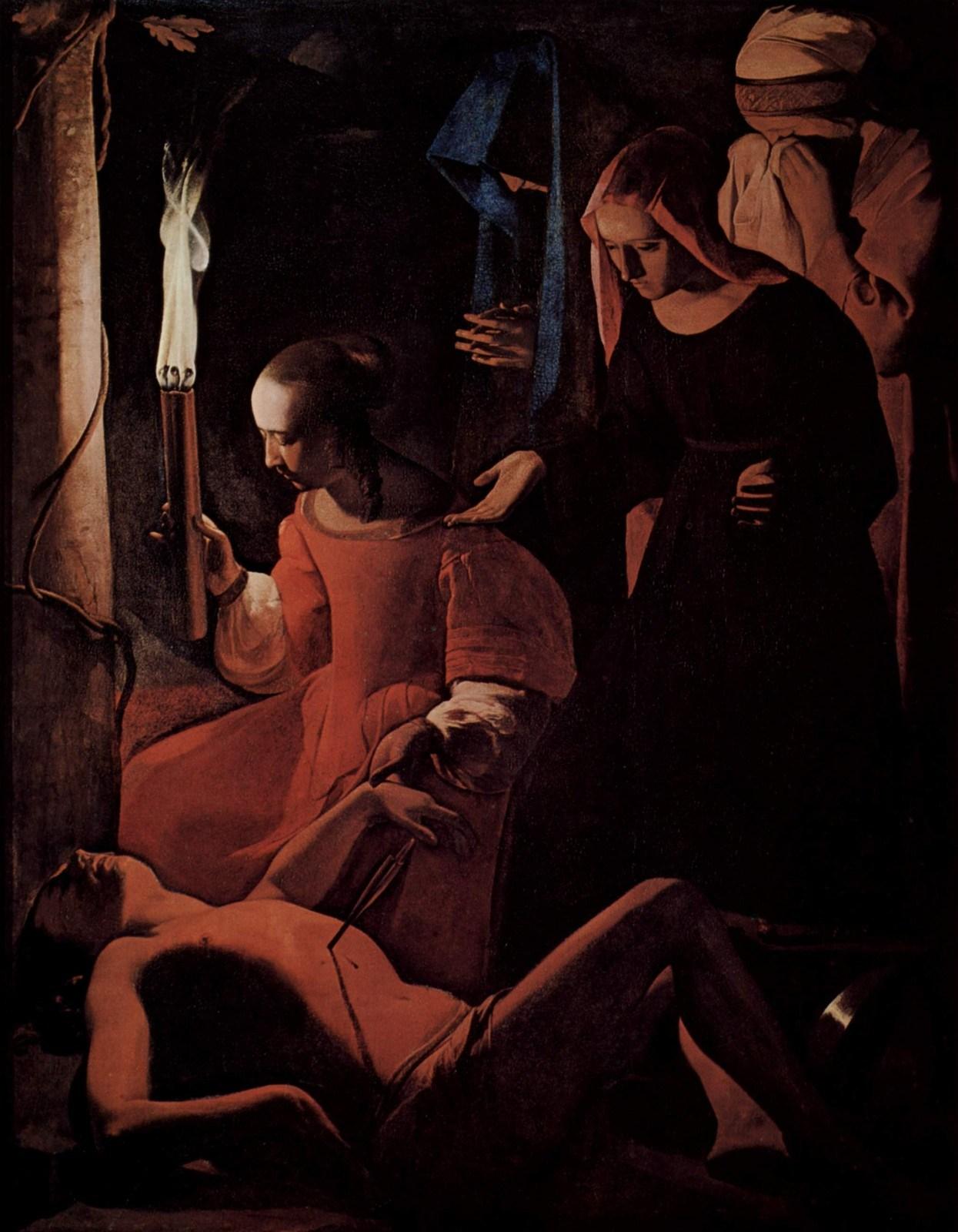 Жорж де Латур. Святой Себастьян. Ок. 1649