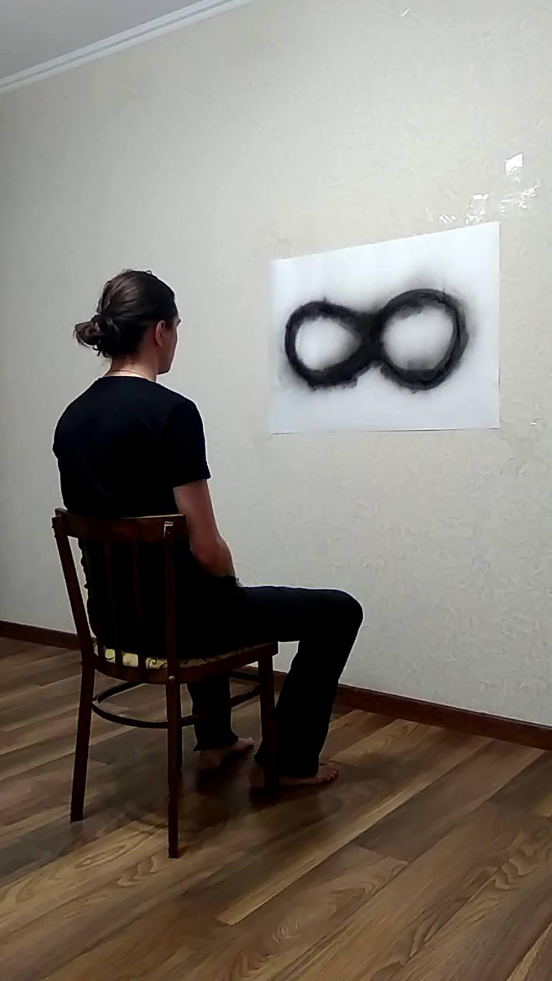 Андрей Ишонин. «Попытка увидеть бесконечность», 2018