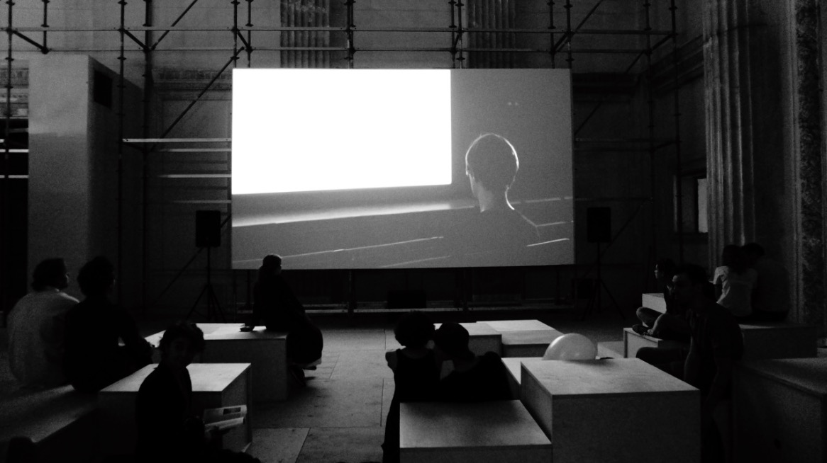 We moved to Keren Cytter's video screening.