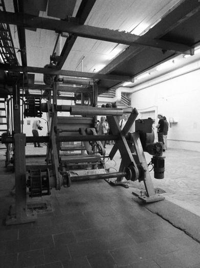 Грунтовальная машина. Вид экспозиции выставки «Машина и Наташа» © Художественный журнал
