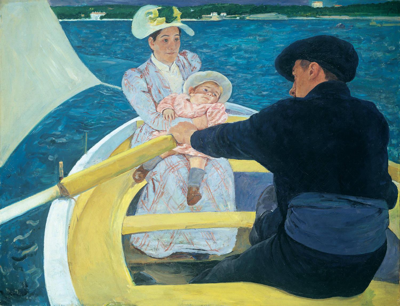 Мэри Кассат. Прогулка на лодке, 1893-1894