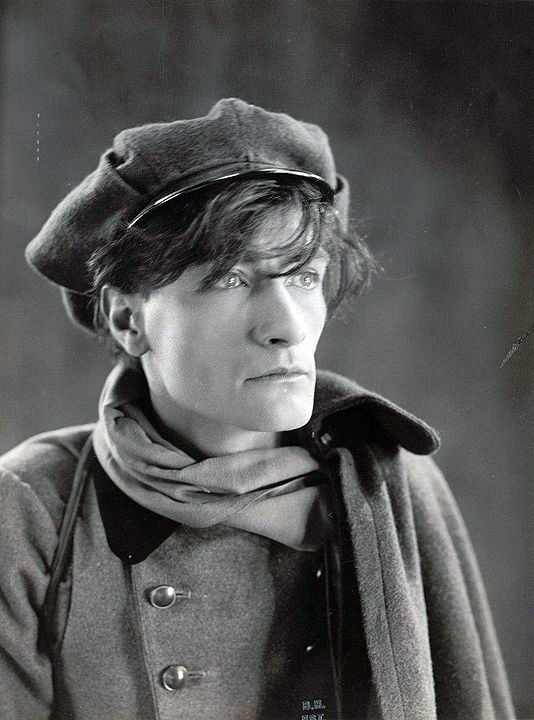 Французский поэт и драматург Антонен Арто (1896-1948 гг.)