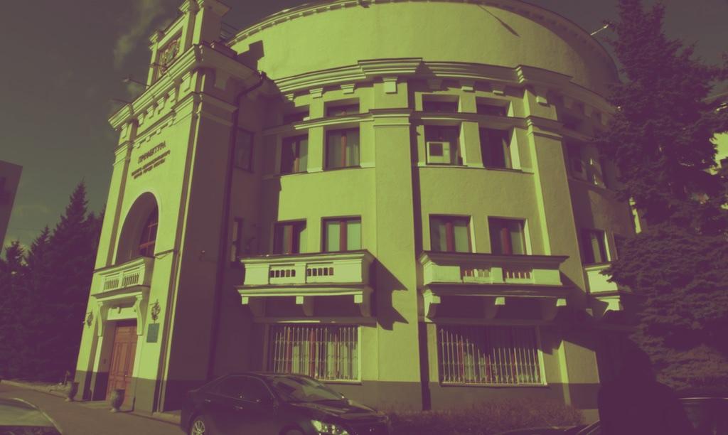 Здание Пролетарского райкома, 1937-1938