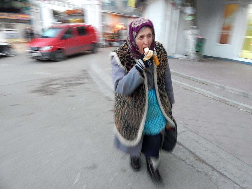 Бабушка Леопольда. Фотография: М.А.