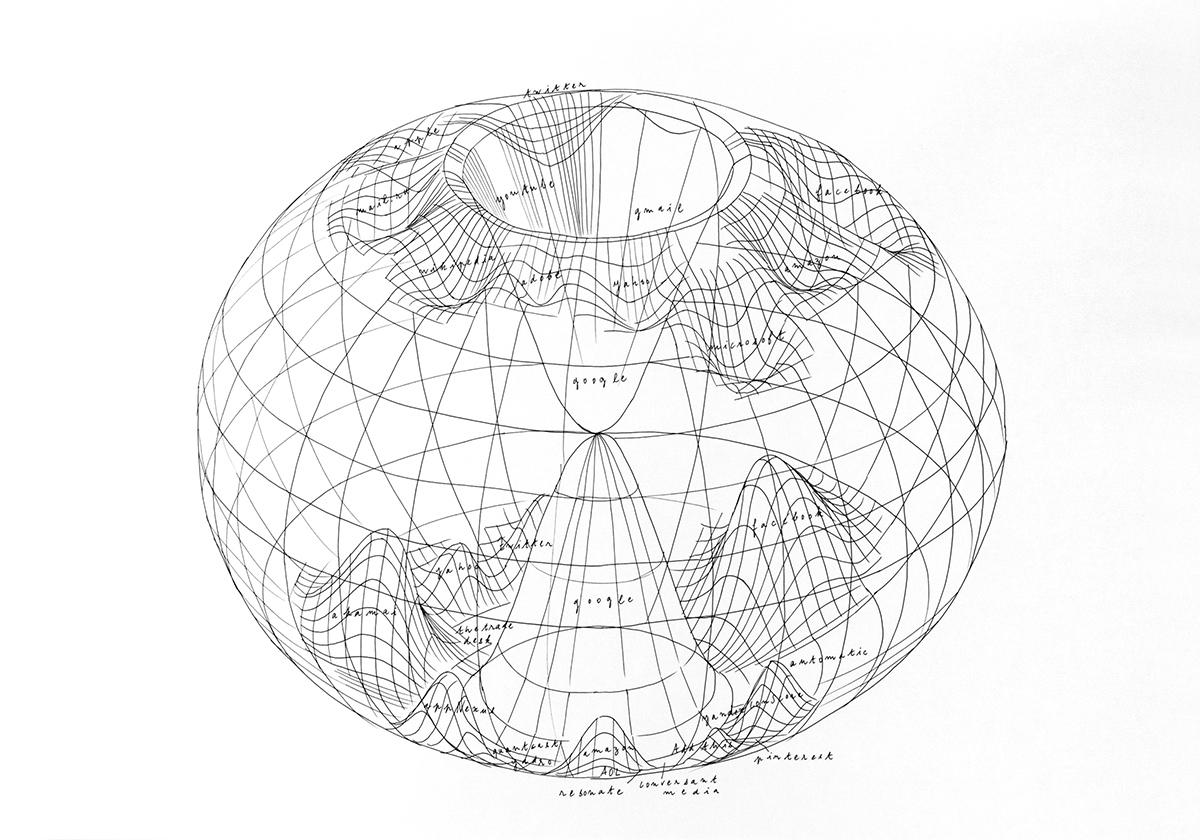Луиз Дрюль, «Критический атлас интернета», 2016