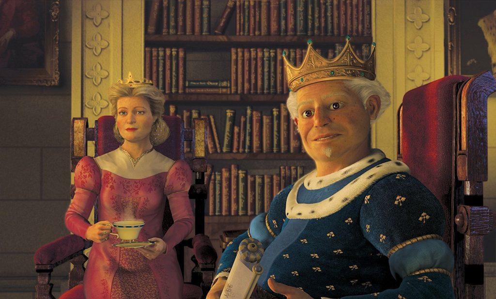Отец, который знает, как лучше для дочери - король Гарольд © DreamWorks