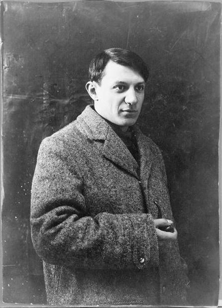 Пабло Пикассо в 1908 г.
