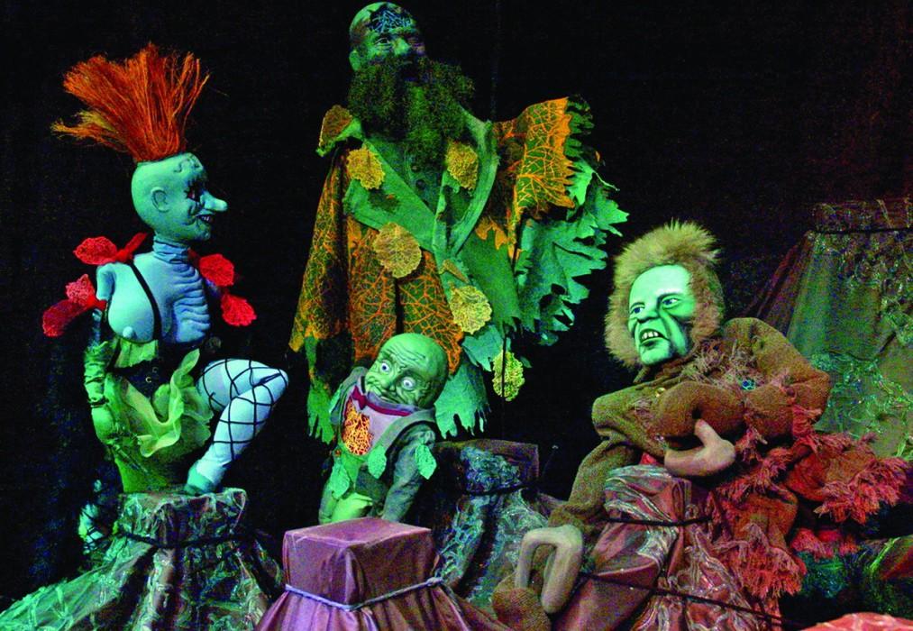 Спектакль «Бобок» / фото – Екатеринбургский театр кукол