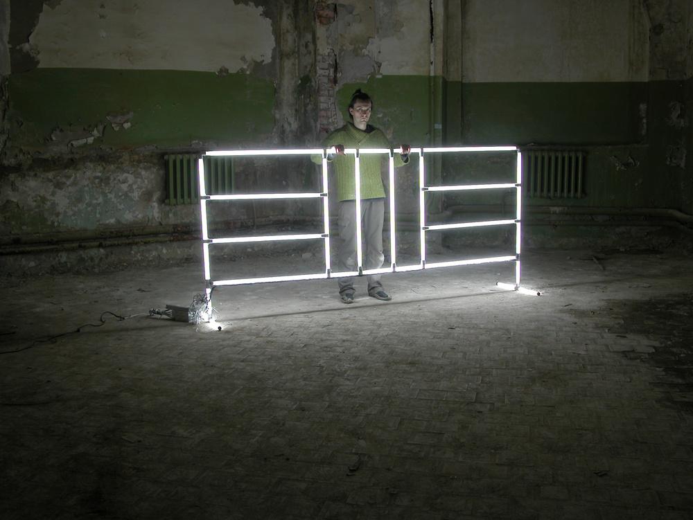 BLOCK, fluorescent lamps,2011
