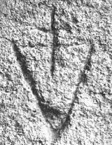 Наскальные символы, обнаруженные Отто Раном