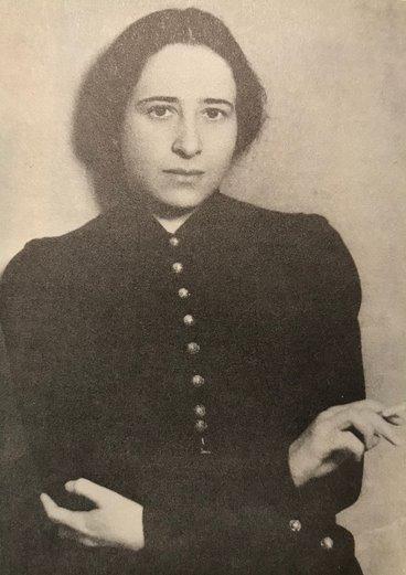 Философка Ханна Арендт, фото 1933 г.