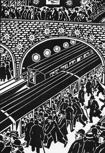 Иллюстрации Франса Мазереля к роману «Жерминаль» Э. Золя