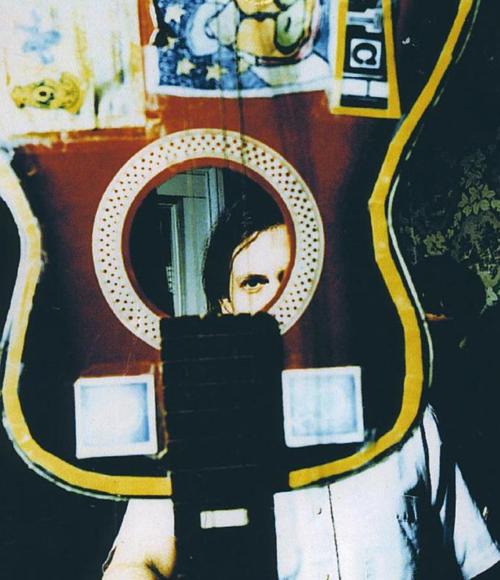 Джефф Мэнгам. Взято со страницыElephant Six Recording Company в tumblr