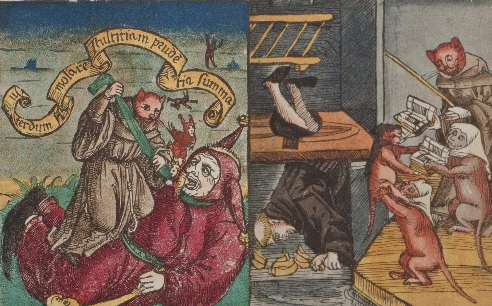 6, 7.Томас Мурнер. О величайших лютеранских шутах. Страсбург, 1520.