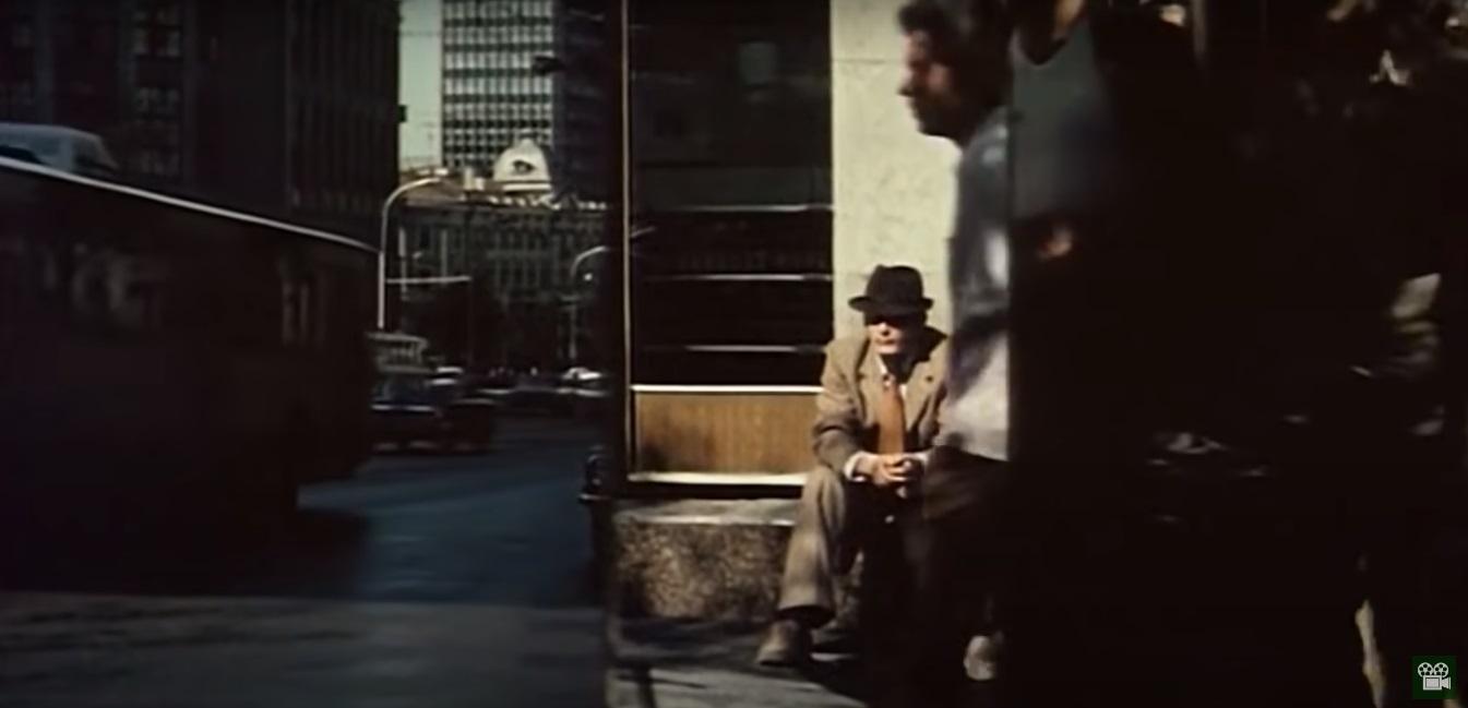 Не Уолл-стрит, не Таймс-сквер, а Москва. Немного в стиле пионера цветной фотографии Сола Лейтера