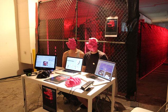 Zach Blas, Facial Weaponization Suite: Fag Face Mask, 2012