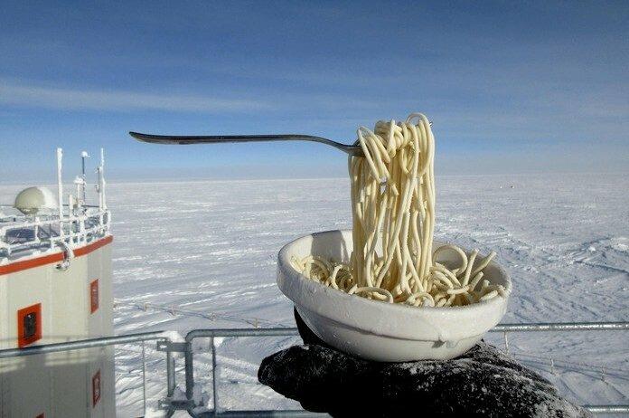 Антарктическая станция «Конкордия», - 60°. Источник фото: pikabu.ru